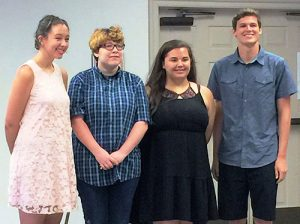 Four Worcester County Students Awarded Scholarships From Worcester County Arts Council