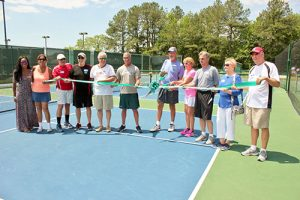 Ocean Pines Association And Ocean Pines Pickleball Club Host Ribbon Cutting Event