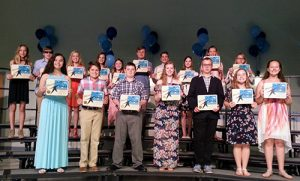 Rising Stars Awards Presented To SD Middle School Students