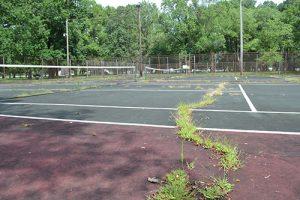Berlin Tennis Court Project Scores Grant