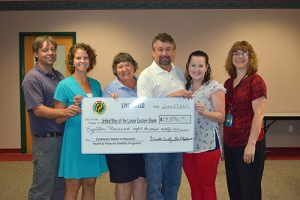 Worcester County Government Employees Present United Way With $18,896 Check