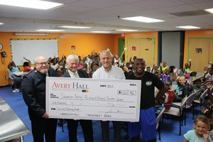 Avery Hall Insurance And The Selective Insurance Group Foundation Join Forces To Support Salvation Army Richard Hazel Youth Center