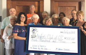 The Marlin Club Crew Of OC Donates $500 To Ocean Pines Anglers Club