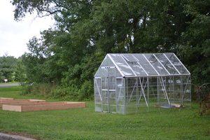 Grant Helps School Build Greenhouse