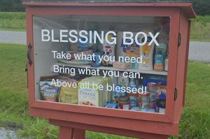 Little Free Pantry Established By Methodist Church