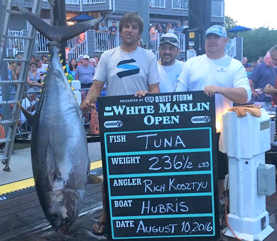 07/06/2017   First-Place Tuna In 2016 White Marlin Open Sees Prize