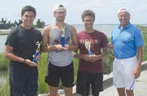 Champs Crowned in High School Tennis Tourney