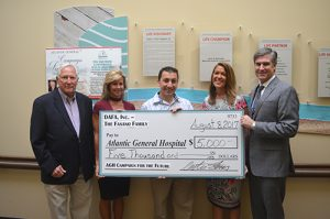 Fasano Family Donates To Atlantic General Hospital Campaign For The Future