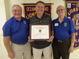 Delmarva Printing And Design Owner Receives OC Lions Club's Highest Community Service Award