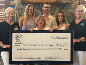 Marlin Club Crew Of OC Awards Four $3,500 Scholarships To Worcester County Students
