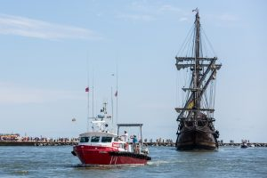 Tall Ship Extends Ocean City Stay; 30-Day Sailing Training Program Offered