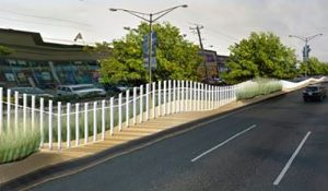 Median Fence, Lighting Project To Begin In October