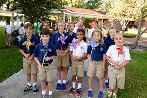 Worcester Prep Lower School Students Decorate Pinwheels In Honor Of International Day Of Peace
