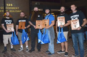 Wicomico County Holds Brothers Of The Brush Contest