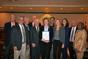 Worcester County Commissioners Presented Proclamation Recognizing Oct. 23-27 As Economic Development Week