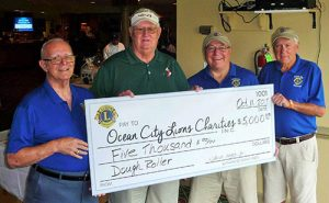"""Gibbs Family, Owners Of Dough Roller Restaurants, Donates $5,000 To Ocean City Lions """"Wounded Troops"""" Fund"""