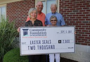 Easterseals Receives $2,000 Donation From David Larmore Memorial Fund