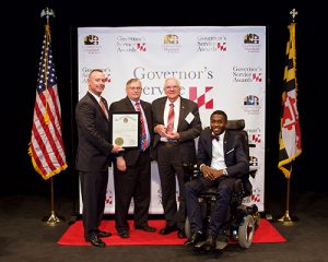 Duitscher, Coastal Hospice Volunteer, Recognized At 34th Governor's Service Awards Ceremony