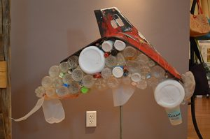 'Reimagined' Exhibit Features Beach Litter Made Into Art Sculptures
