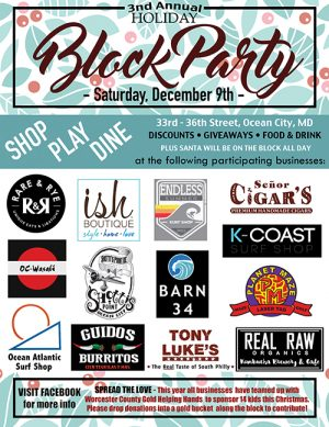 Annual Holiday Block Party Set For Saturday In OC