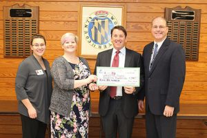 Community Foundation Of The Eastern Shore Presents Worcester County Education Foundation With $500 Check