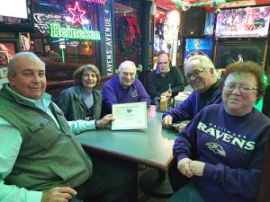 Raven Roost #44 Presents Honorary Membership To Steve Pappas
