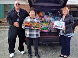 Kiwanis Club Completes 2017 Toy Drive