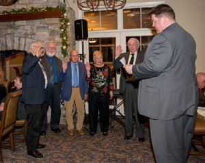 Democratic Club Of Worcester Holds Its Annual Holiday Party And Swearing-In Of New Officers