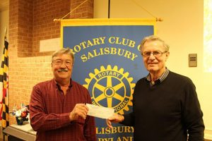 Rotary Club Of Salisbury Provides Additional $3,500 To Lifetime Wells International