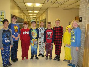 "Berlin Intermediate School Participates In ""Pajama Day"""