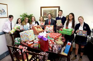 WPS Volunteers Sponsor Gift Drive To Collect Presents For Worcester County G.O.L.D.
