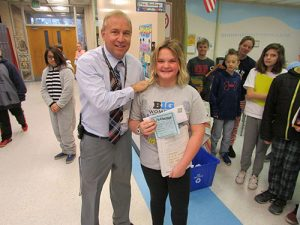 Berlin Intermediate School Recognizes Students Each Day For Respect, Responsibility And Being Ready To Learn