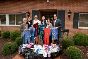 "Worcester Preparatory School National Honor Society Sponsors ""Pajama Drive"""