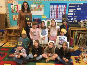 OC Elementary Pre-K Students Celebrate First Thanksgiving