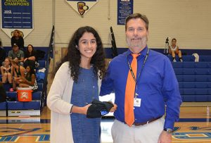 SD High School Senior Laila Mirza Named VIP Of The Game