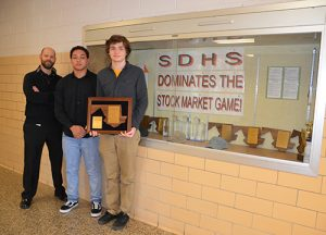 Manganiello And Haas, SD High School Fall Stock Market Game State Champions