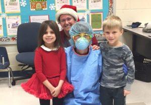 Ocean City Elementary Kindergarten Students Visited By Nurses From Atlantic General Hospital