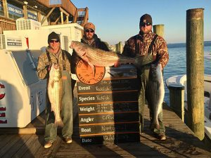 Nontypical Leads Marlin Club Tourney