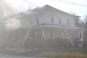 Historic Berlin Home Badly Damaged In Fire; Community Rallies Support For Salvage Effort