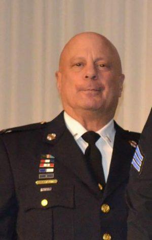 Retiring OCPD Lieutenant Saluted