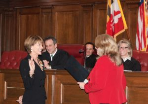Kent Sworn In As First Female Judge In Worcester County History