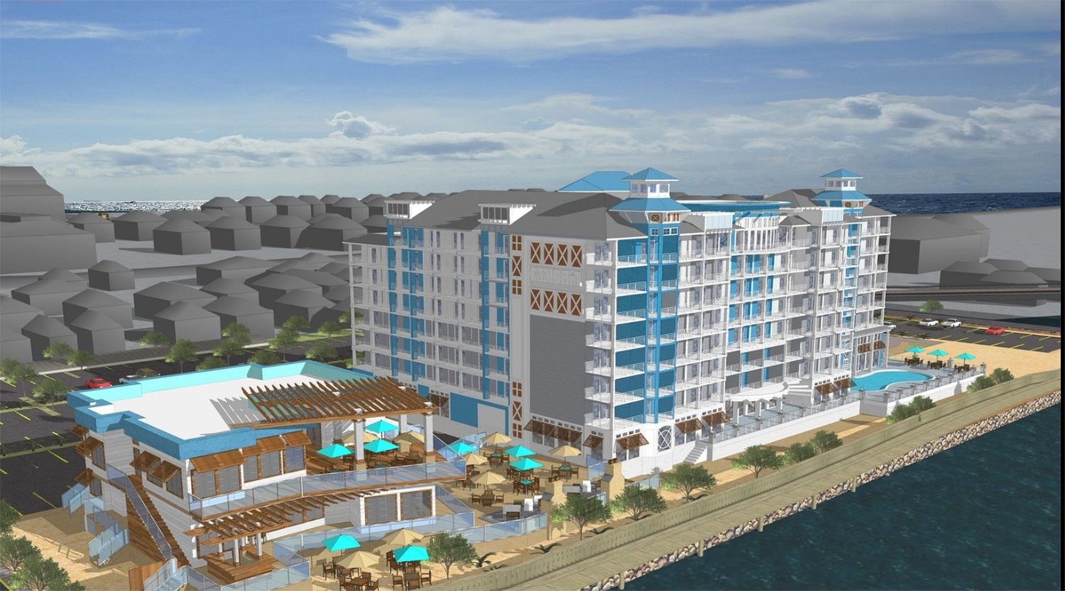 Hotels In Ocean City Md >> 02 19 2018 Downtown Hotel Project Officially Underway