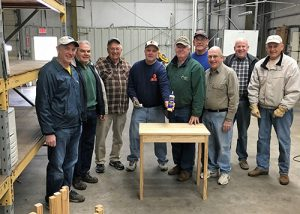 Rotary Club Of Salisbury Constructs Bedside Tables For Camp Fairlee