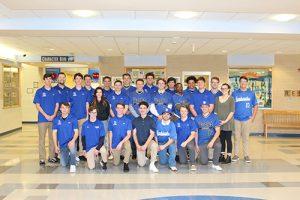 SD High School Baseball Team Special Visitors At OC Elementary School