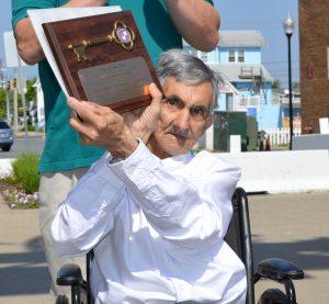 Boardwalk Elvis, The Original Boardwalk Street Performer, Honored With Key To Ocean City