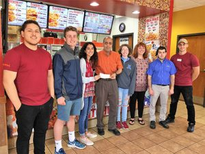Popeye's Chicken In West OC Holds Fundraiser To Benefit SD High School's Math Honor Society