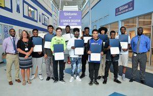 SD High School Students Volunteer To Mentor Buckingham Elementary First Graders