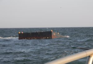 60-Foot Barge Added To Offshore Reef Site