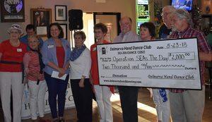 Delmarva Hand Dance Club Donates $2,000 To Operation Seas The Day