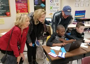 Snow Hill Rotary Club Members Visit Snow Hill Middle School